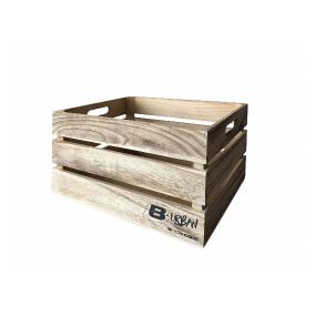 Дървен вело касета за багаж