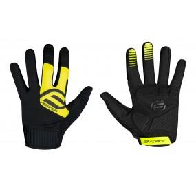 Ръкавици Force MTB Power / Yellow