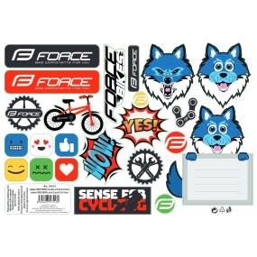 Стикери за детски велосипед Force