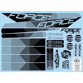 Стикери за велосипедна  рамка Force Line