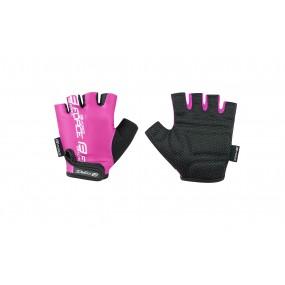 Детски вело ръкавици FORCE KID Pink
