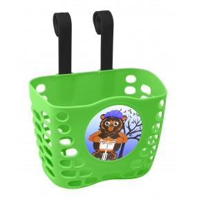 Предна детска кошница Force / зелена