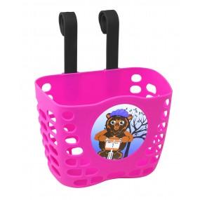 Предна детска кошница Force / розова