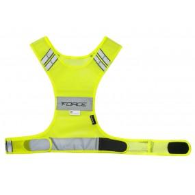 Светлоотразитела жилетка Force  SPORT