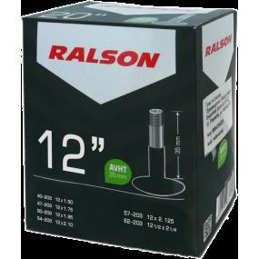 Вътрешна гума Ralson 12 x 1.75/2.125 AV