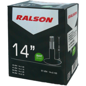 Вътрешна гума Ralson 14 x 1.75/2.125 AV