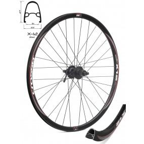 Задна капла за шосейни ви хибридни велосипеди X-12 / 28''  с главина Shimano Disc