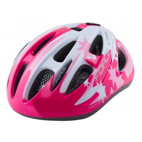 Детска каска Force Lark Fluo Pink In-Mould