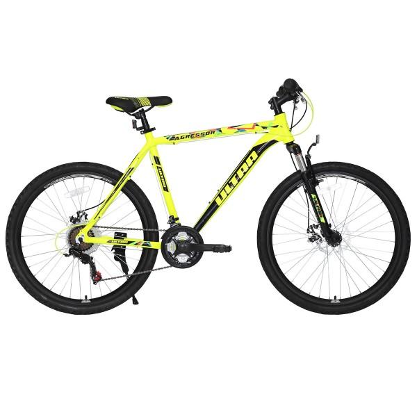 Велосипед Ultra Agressor Black 26'' 420mm