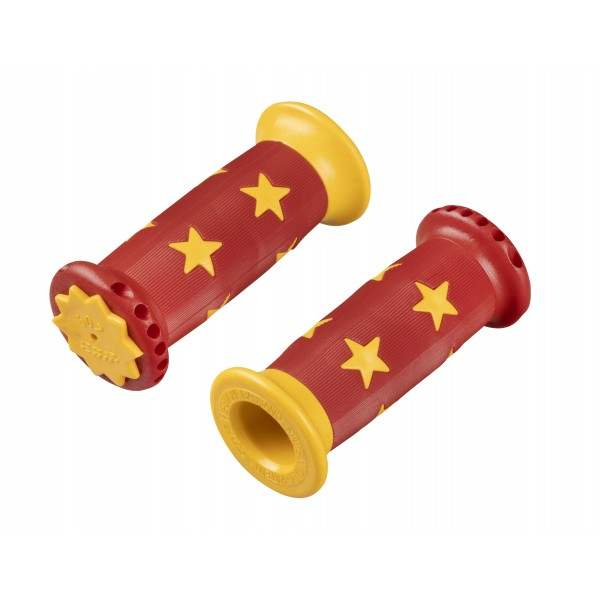 Детски дръжки Pro Grip червено-жълти