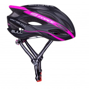 Каска Force Bull Black-Pink