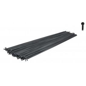 Стоманизирани черни спици Force 2мм диаметър / 258mm.
