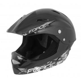Каска Force Downhill Fullface черна