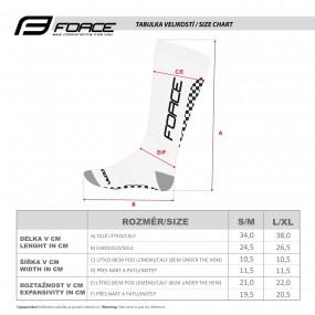 Компресни чорапи Force Athletic Pro Kompres
