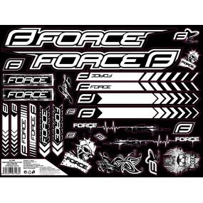 Стикери за велосипедна  рамка Force 2 in 1