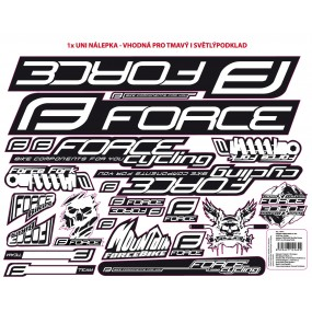 Стикери за велосипедна рамка Force