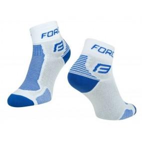 Спортни чорапи Force White/Blue 42-47 EU