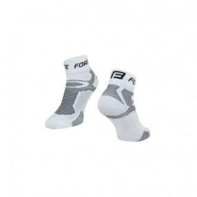 Спортни чорапи Force White/Black 42-47 EU