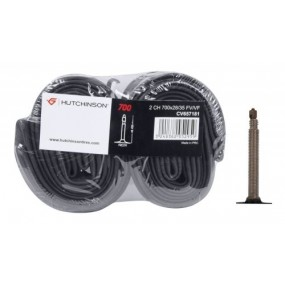 Kомплект вътрешни гуми Hutchinson за шосеен велосипед 700x28-35c