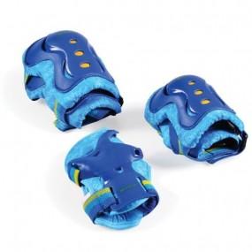 Комплект детски протектори за момче - сини