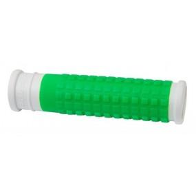 Вело дръжки Force Rubber / бяло и зелено