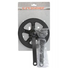 Комплект единичен курбел Prowheel 42T с предпазител 170мм
