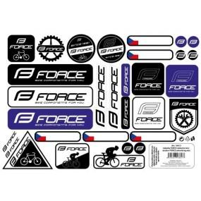Стикери за велосип Force Mix