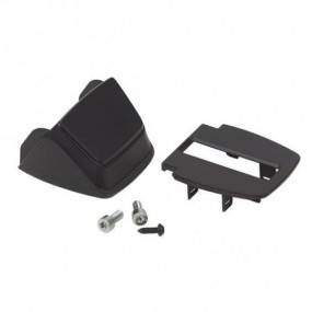 Plastic housing kit for lock, incl. top and bottom cove